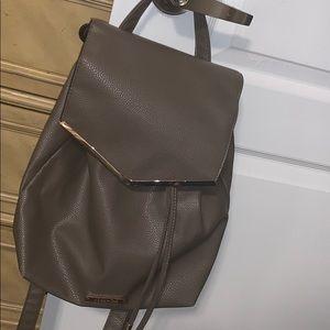 🔥 Sale! Grey mini Backpack